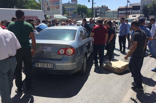 Malatya'da otomobilin çarptığı bir kişi yaralandı