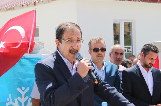 Palandöken Belediyesi kırsal mahallelerdeki 41 tesisin açılışını yaptı