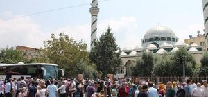 Osmaniye'de ikinci kafile hacı adayları kutsal topraklara uğurlandı