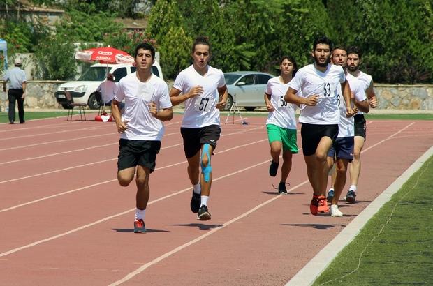 MSKÜ Spor Bilimleri yetenek sınavı yapıldı