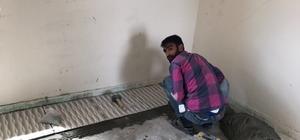 Atıl durumdaki bina Kur'an kursuna dönüştürüldü