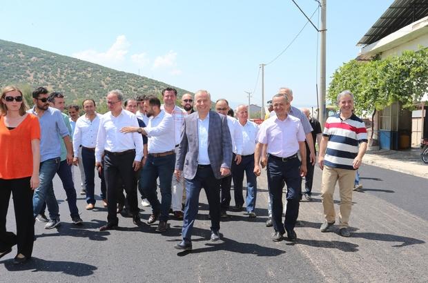 Başkan Zolan, Tavas asfalt çalışmalarını inceledi