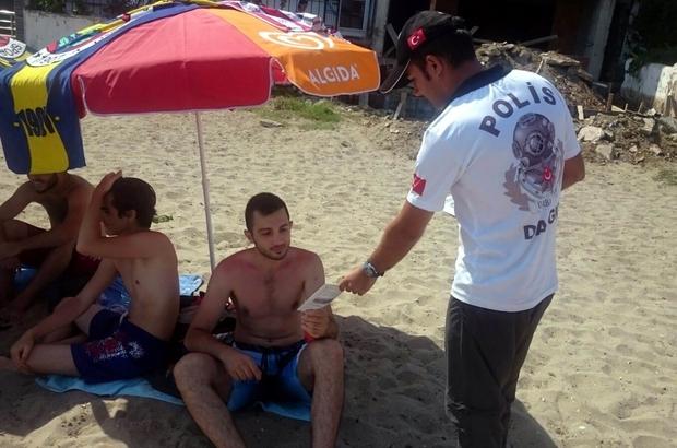 Deniz polisi boğulmalara karşı uyardı