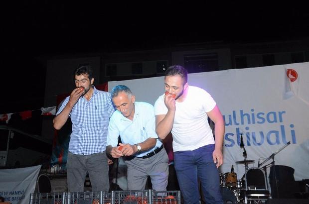 Koyulhisar'da kültür ve sanat festivali yapıldı