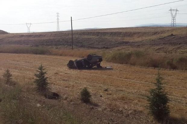 Çorum'da trafik kazası: 5 yaralı
