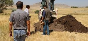 Varto'da kanalizasyon hattı yenileme çalışması
