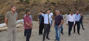 Başkan Epcim, mezbaha alanını inceledi