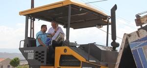 İncesu Gönenkent Mahallesinde asfalt çalışmaları başladı