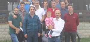 Gençlik Hizmetleri ve Spor İl Müdürü Öztürk, basın mensupları ile kamp yaptı
