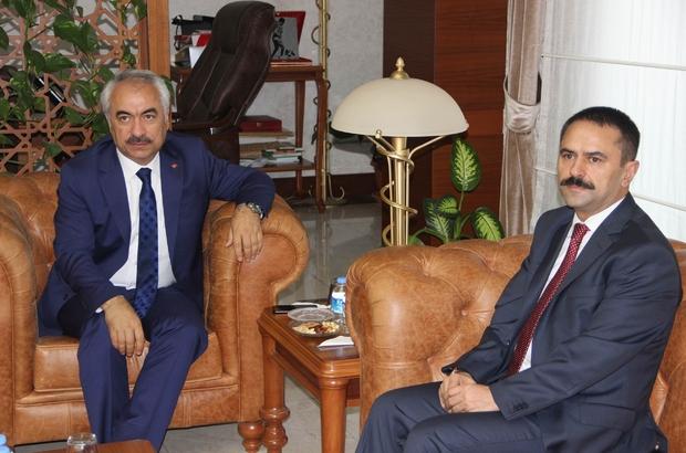 İçişleri Bakan Yardımcısı Ersoy, Vali Aktaş'ı ziyaret etti