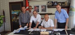 Genç Belediyesinde, toplu iş sözleşmesi imzalandı