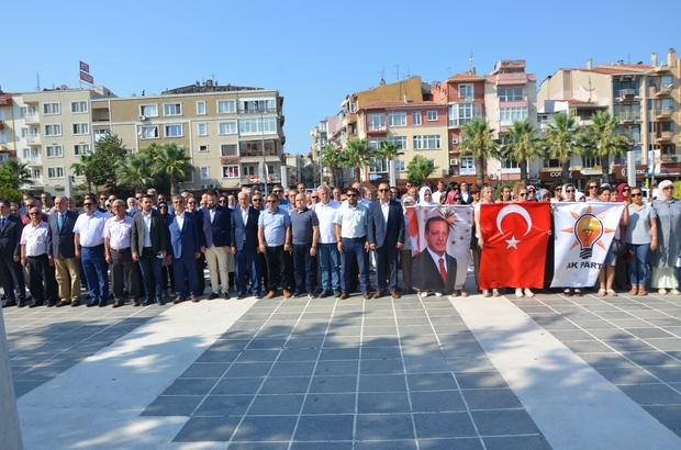 AK Parti'nin 16. kuruluş yıl dönümü Çanakkale'de kutlandı