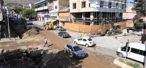 İstasyon Caddesi'ne geçici asfalt