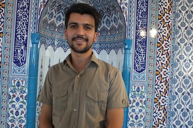 Burhaniye'de Murat Kabakçı yeni camiye imam oldu