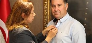 Rotary Kulübünden Başkan Kocadon'a ziyaret