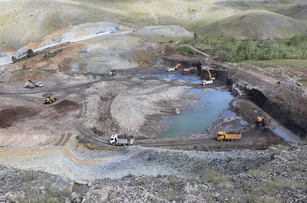 Örenlice barajıyla 13 bin 500 dekar arazi sulanacak