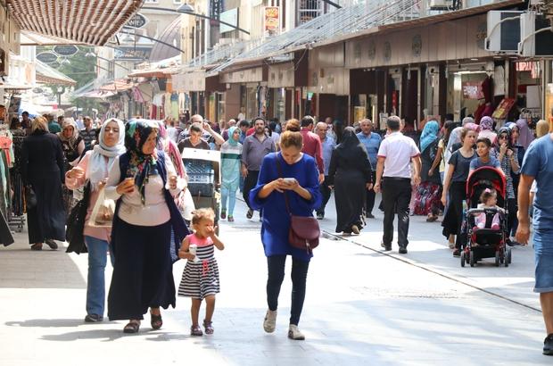Gaziantep'te bayram telaşı erken başladı