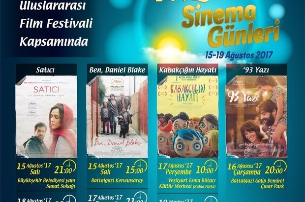 Malatya'da yazlık sinema günleri başlıyor