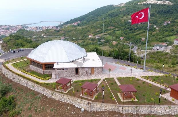 Cide Tuğtepe Mesire alanı vatandaşların hizmetine açıldı
