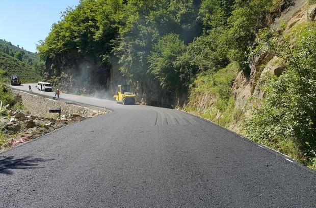 Gölköy'de asfalt seferberliği