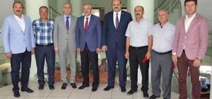 Tatlısu Belediye Başkanı Orçan, Erzurum'da incelemelerde bulundu