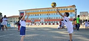 Pursaklar'da yaz spor okulu coşkusu