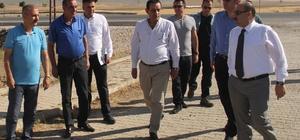 Vali Ustaoğlu, OSB arazini inceledi