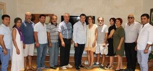 Bodrum Kent Konseyi'nden Başkan Kocadon'a ziyaret