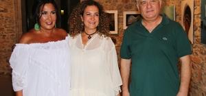Halit Akçatepe'nin kızı sergi açtı