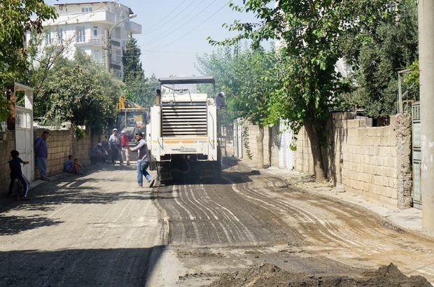 Malazgirt Mahallesi yıllar sonra yeni asfalta kavuşuyor