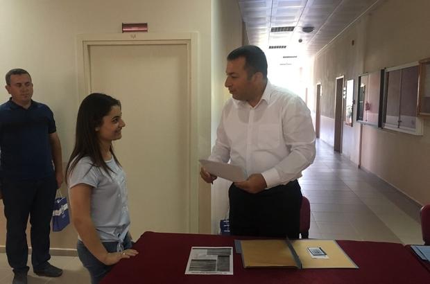 Lapseki MYO 2017-2018 akademik yılı kayıt töreni yapıldı