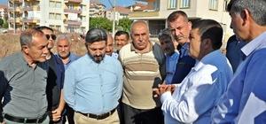 TBMM Başkanvekili Ahmet Aydın Gölbaşı ilçesinde yapımı devam eden yatırımları inceledi