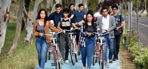 Aliağa bisiklet kenti oldu