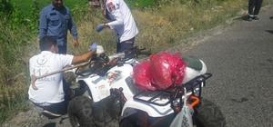 Nevşehir'de ATV kazası 1 yaralı