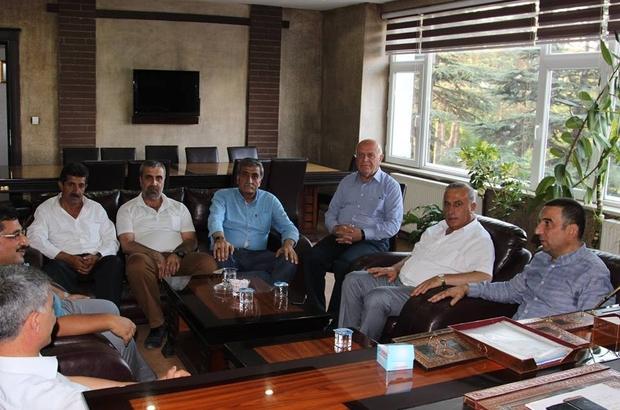 Daire Başkanı Hacıbektaşoğlu'ndan Tatvan ziyareti