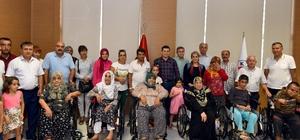 Kepez'de 14 engelliye tekerlekli sandalye