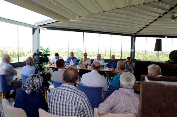 Meram'da halk toplantıları devam ediyor