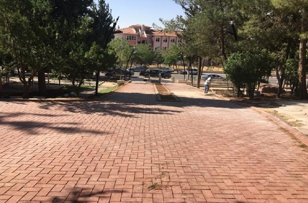 Karataş Parkı'na makyaj
