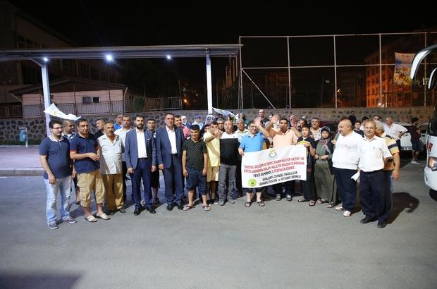 Haliliye belediyesi engellileri gençlik kampına gönderdi