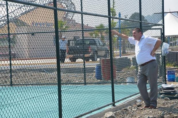 Alaplı'ya yeni parklar ve yaşam alanları yapılıyor
