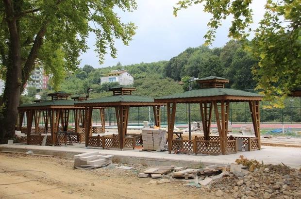 15 Temmuz Parkı çalışmalarında sona yaklaşılıyor