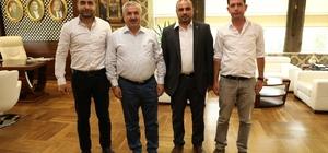 Başkan İsmail Baran BBP'li heyeti ağırladı