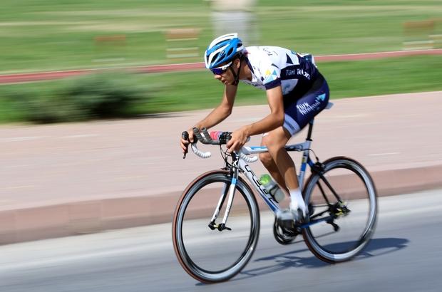 Talas'ta Bisiklet Yol Şampiyonası Başladı