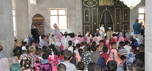 Kars'ta cami çocuk buluşması