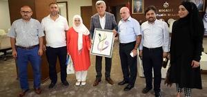 """Başkan Karaosmanoğlu, """"Çocuklarımız geleceğin Türkiye'sini temsil ediyor"""""""