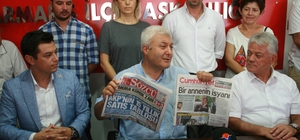 CHP Milletvekili Tuncay Özkan  Marmaris'te partilerle buluştu