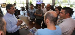 Turizm Bakanlığı heyetinden, Başkan Alemdar'a ziyaret