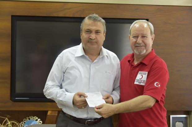 Türk Kızılayından Manisa protokolüne destek ziyareti