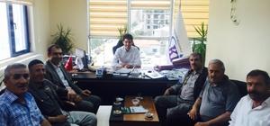 Başkan Berge'den VASKİ'ye ziyaret