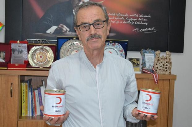 Kızılay Kastamonu Şubesi'nden kurban bağışı